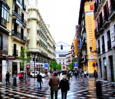 home sweet casa: Calle del Arenal, Madrid, Spain Travel Around The World, Around The Worlds, Spain Travel Guide, World's Most Beautiful, Adventure Is Out There, Oh The Places You'll Go, Dream Vacations, Wonders Of The World, Travel Photos