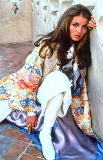 Talitha Getty in Marrakech, 1969