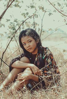 America indian girl
