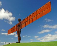 the angel of the north - Google Search