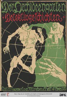 Couv. Ritter, Der Orchideengarten : phantastische Blätter — 2.1920