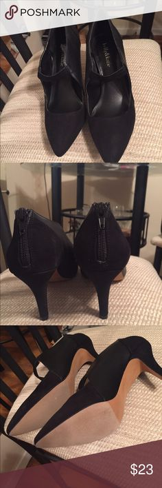 Beautiful new pointed shoes with zipper on back. Beautiful Kelly and Katie pointed shoes. Brand New. Has a zipper on the back of shoe. Kelly & Katie Shoes Heels
