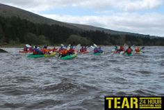 The beauty of Kayaking on the Blessington Lakes TEAR Racng!