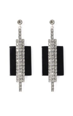 CA&LOU Onyx Earrings
