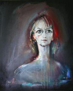 Grazyna TARKOWSKA - Illuminée - Peinture - Huile sur toile