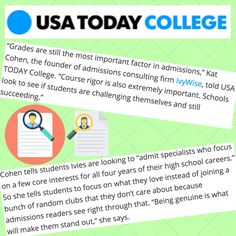 Kat Cohen's spoke with USA Today College about what it takes to get into the Ivy League! University Of Pennsylvania, Brown University, Cornell University, Princeton University, Harvard University, Apply For College, Fun Fact Friday, Dartmouth College, College Admission