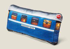 подушка Спальный вагон, купить в интернет магазине в Москве, оригинальные и необычные подарки