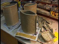 Clay Coil Texture Pot - Arts At Trinity