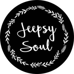 Jeepsy Soul floral Spare Tire Cover Jeep Wrangler