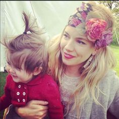 Sienna Miller, the Queen of Festival chic