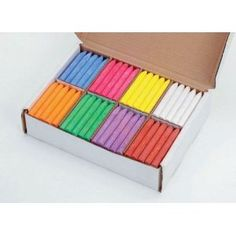 Giant Chunki Chalk Classroom Pack - Pack of 200