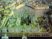Aerial view - Hermitage Museum, Sankt Peteresburg, Russia
