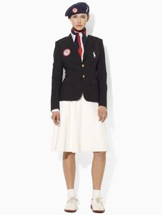 Team USA Ceremony Uniform. People need to stop dissing the beret. Many of our troops also wear berets.