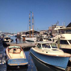 Newport International Boat Show Hinckley at Bowens Wharf via instagram 12MeterCharters