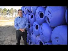 Hippo Water Roller Founder Grant Gibbs demonstrates the hippo and it's additional uses for irrigation and informal trading. Irrigation, Social Studies, Helping People, Campaign, Product Launch, African, Learning, Videos, Water