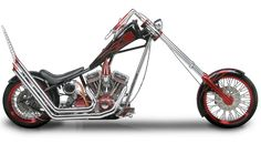 Orange County Choppers - #OCC - Sr Old School Bike