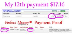 Adclickxpress (ACX) is Paying My 12 th Payment during 2015 $ 17.16 (Paid with in 24 hours)