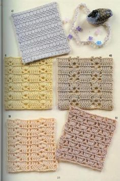 Lots and Lots of Crochet Patterns!!