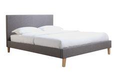 Narelle Modern Designer Slatted Bed Queen