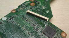 Ставим разъем на место. Ремонт материнской платы ноутбука HP 17-e062sr. Сервисный центр Гарант http://www.scp-garant.ru