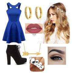 """""""Untitled #38"""" by rita-iuri ❤ liked on Polyvore featuring ASOS, Monet and Smashbox"""