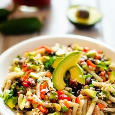 Southwestern Quinoa & Pasta Salad