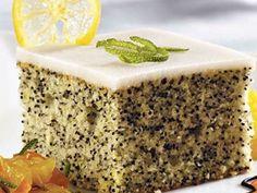 Makový koláč.