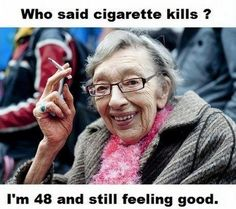 One of the best anti-smoking messages...super hilarious!
