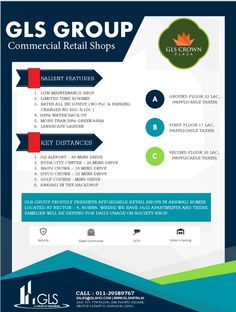 Shared by GLSInfra. Commercial Retail Shops in Arawali Homes sector Sohna, South of Gurgaon. Affordable Housing, Retail Shop, Home Projects, Commercial, Shops, Construction, Crown, Shopping, Building