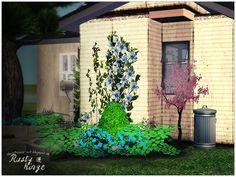 Sims 2 House-Rusty Hinge  ideas4sims-art.blogspot.de Sims 2 House, Plants, Inspiration, Art, Biblical Inspiration, Flora, Kunst, Plant, Planting