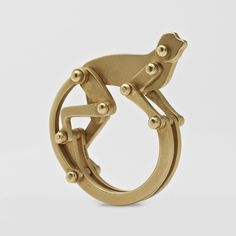 Marc Alary Articulated Monkey Ring