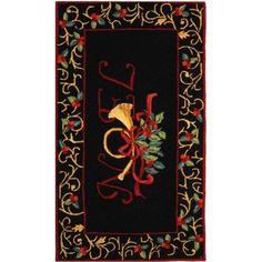 Safavieh Festive Wool Area Rug, Black