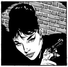 Modesty Blaise by Jim Holdaway