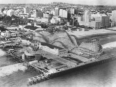 the Pike at Long Beach 1930