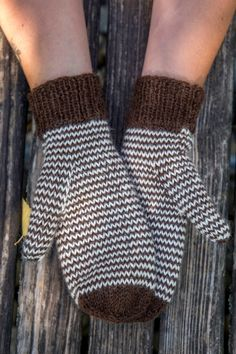 Single Stripe Mittens Balls to the Walls Knits, A collection of free one- and two- skein knitting patterns