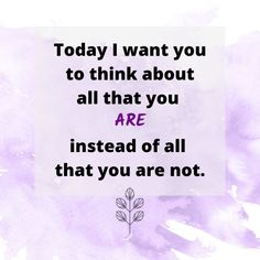 Today #MakeYouThink challenges you to focus on who you are, what you have accomplished and stay away from negative self-talk. #WellnessWednesday