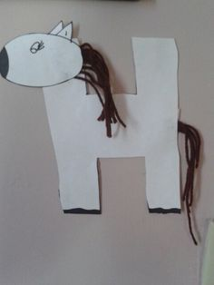Year of the Horse - H is for horse paper craft