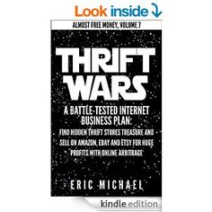 Learn how to resell thrift store treasure on eBay, Amazon, Etsy. $2.99 on Kindle