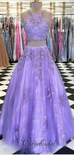 Elegant Prom Dress,Sexy Prom Dress,Two Piece Prom Dress, Lace Prom Dress,Beaded Prom Dresses Two Piece, Elegant Prom Dresses, Sweet 16 Dresses, Ball Dresses, Sexy Dresses, Beautiful Dresses, Ball Gowns, Formal Dresses, Party Dresses