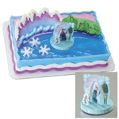 Disney Birthday Frozen cakes | Disney's Frozen Party Anna and Elsa Cake Decorating Set