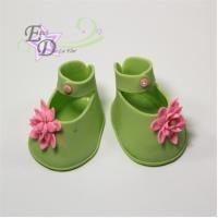 Baby girl shoe cutter set/ Juego de cortadores de zapatito de niña