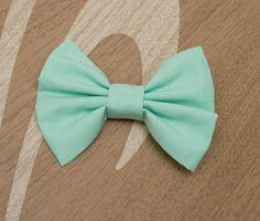 Mint Green Hair Bow