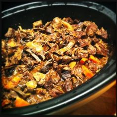 Slow Cooker Recipes, Keto Recipes, Cooking Recipes, Swedish Recipes, Beef Dishes, Stew, The Best, Good Food, Food And Drink