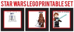 Star Wars Food Label Printables | Etiquetas para los libros del cole...¡imprimibles gratis!