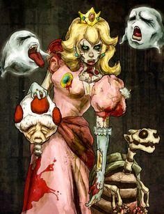 Princess peach!!!