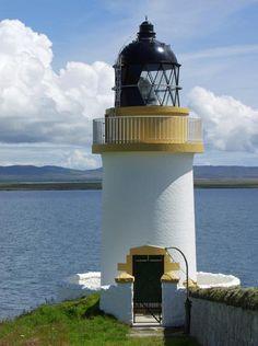 "Rudh An Duin Lighthouse, Island of Islay, Argyllshire Originally built: 1869 Geographic Position: 55° 44"" 43' -6° 22"" 19'"