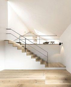 idée loft appartement avec mezzanine -008