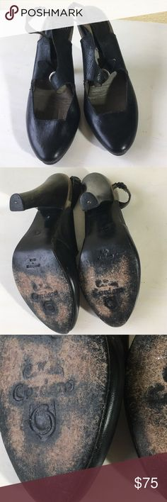 Calleen Cordero black heels 6.5 Beautiful condition Calleen Cordero black heels 6.5 heel.  Shoe measures at 9.1 inches and fits a size 6.5 US.  Some wear on leather soles of shoes see pictures. Calleen Cordero  Shoes Heels