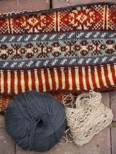 Stash Amassed Beyond Life Expectancy: Fair Isle Progress Update (and Flowers!)
