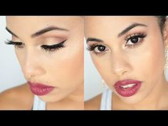 ♡ Carli Bybel Palette ♡ | Inspired Fall Makeup Look - YouTube